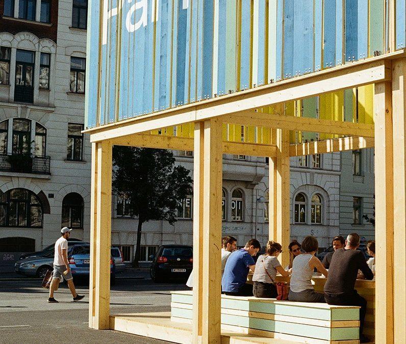 """""""PARK macht Platz"""" am Wiener Naschmarkt"""