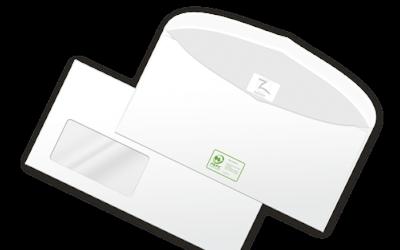 PEFC-zertifizierte Kuverts von z-kuvert