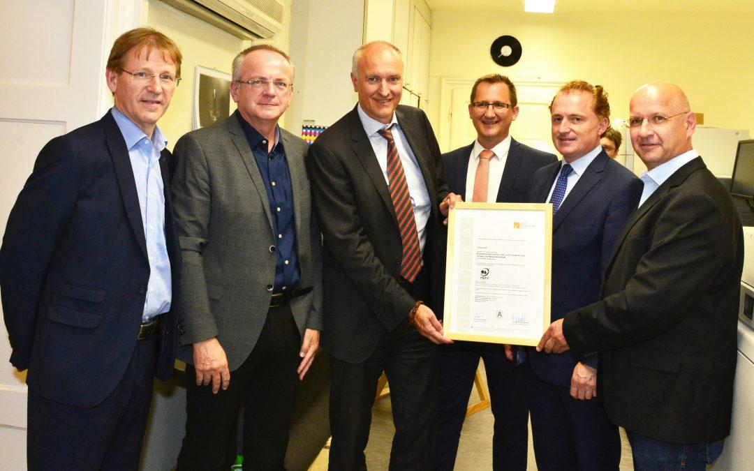 BMLFUW setzt auf PEFC-Zertifizierung