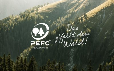 PEFC Austria mit neuem Auftritt – Das g'fallt dem Wald!