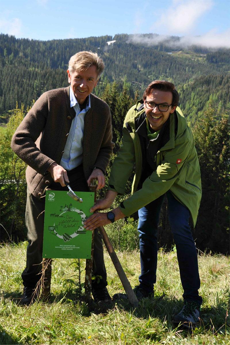 PEFC-Austria-Lanschuetzer-montiert-PEFC-Nachweis